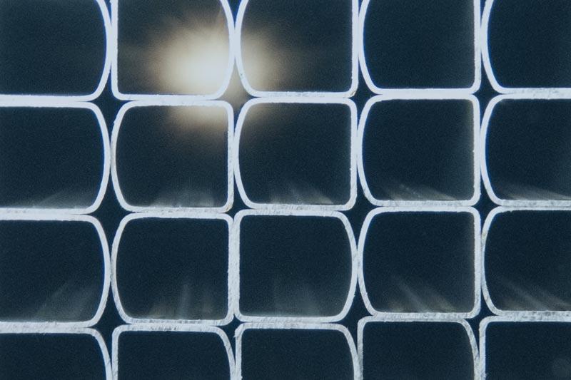 Semi-oval steel tubes