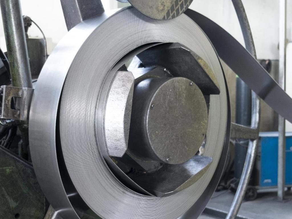 Tubificio del Friuli - Lavorazione materia prima